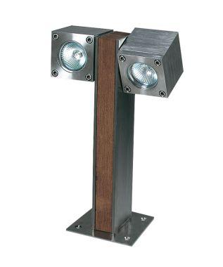 QUBIC 30CM 2 LAMPS 220V EL. POL.
