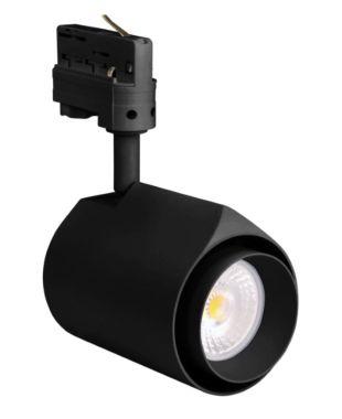 TECO LED 3P-RAILSPOT PERLA 15W 2700K 38° RA95 ZWART