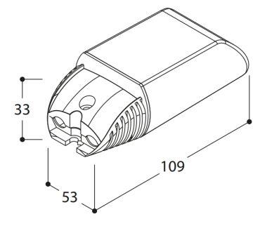 POWERLED CONVERTOR 13.5W 350 MA MAINS DIMM L/C 10% ACC