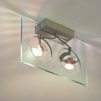 MINI-PTO WALL CEILING CLEAR GU5.3   2X 50W