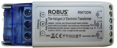 12V 70VA DIMMABLE ELECTRONIC TRANSFORMER [70W]