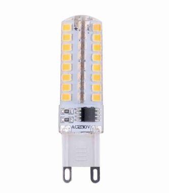 LED SILICON G9 3.5W 280LM 2700K 17X60MM DIM