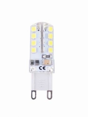 LED SILICON G9 2.5W 220LM 2700K 17X48MM