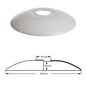 PH 2-1, TOP SHADE, GLASS, TABLE/WALL