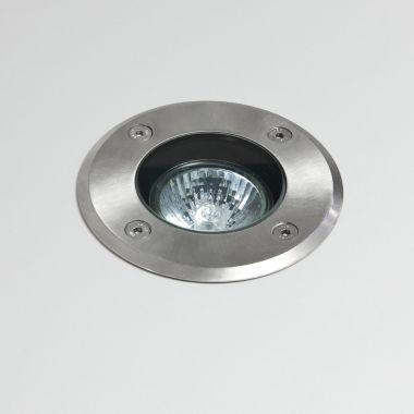 GRAMOS ROUND LED SPOT INOX GU10