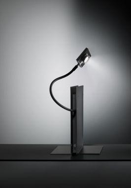 LED'S OSKAR BOEK BUREAULAMP ZWART