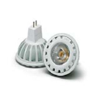 LED MR16 6W 12V AC/DC GU5.3 WIT   58° 2700K