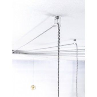 WALL&CEILING ANCHOR FOR RADIAL SYSTEM CLEAR