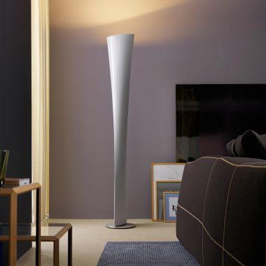 POLARIS LAMPADAIRE BLANC - NOIR