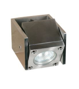 Q-BIC WALL OR FLOOR - 1 LAMP - STAINLESS STEEL - ELECTRO POL