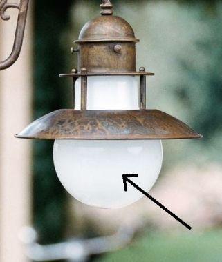GLASS FOR ABBAZIA WALL LAMP