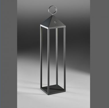 FAROL L LED-AUßEN-AKKULEUCHTE ANTHRAZIT, 1X 2,2W, 180 LUMEN,
