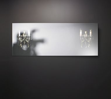 MIRROR+MAT GLASS 220V MIRROR WITH LED LIGHTING