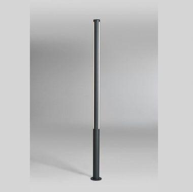 LANK L LED-AUßEN-POLLERLEUCHTE ANTHRAZIT, 1X27W, 1600 LUMEN,