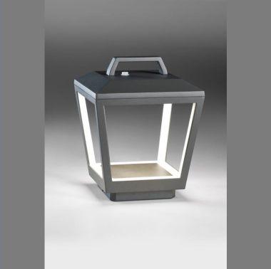 MATRIX AKKU LED-AUßEN-AKKULEUCHTE ANTHRAZIT, 1X 210W, 800 LU