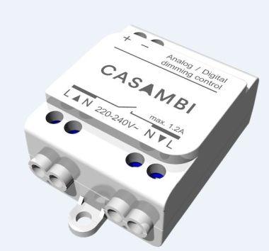 DIMMER BLUETOOTH 0-10V, 1-10V  MAX 1,2A CBU-ASD