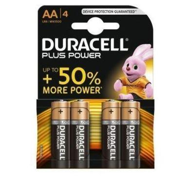 Batterij AA Plus LR06/MN1500 1,5V (bl4)