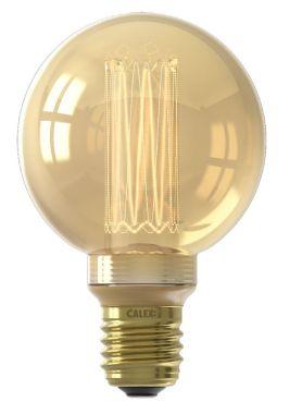 LED GLASSFIBER GLOBE LAMP G80  220-240V 3,5W 100LM E27, GOLD