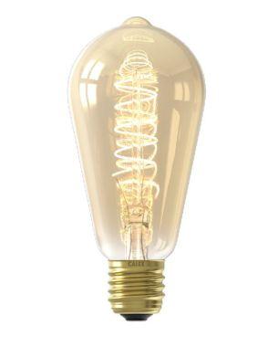 LED FULL GLASS FLEX FILAMENT RUSTIK LAMP 220-240V 4W 200LM E