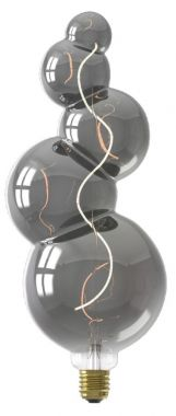 ALICANTE LED LAMP 240V 4W 60LM E27, TITANIUM 2100K DIMMABLE,