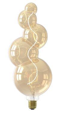 ALICANTE LED LAMP 240V 4W 130LM E27, GOLD 2100K DIMMABLE, EN
