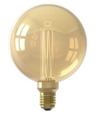 LED GLASSFIBER GLOBE LAMP G125 220-240V 3,5W 120LM E27 GOLD