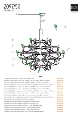RL7060459 - 2097/50 - BRASS SMALL ARM (200MM)