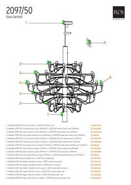 RL7060558 - 2097/50 - BRASS MEDIUM ARM (375MM)