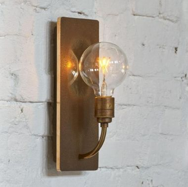 WHAT? WALL LAMP BRONZE