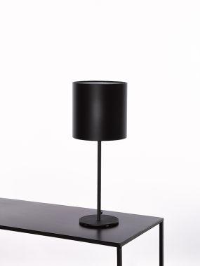 TABLE LAMP 2806-L1 ROUND H37 BASE DIAM15 BLACK 1*E27