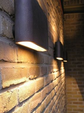 SOLO WALL LAMP OUTDOOR LED 26CM