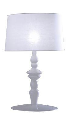 ALI&BABA TABLE LAMP IN WHITE CERAMIC