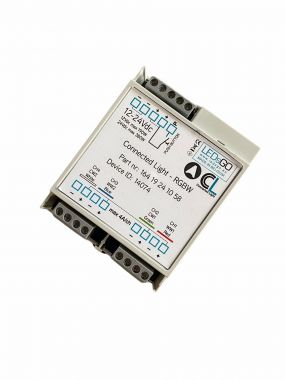 BT DIN rail module RGBW dimmer +C