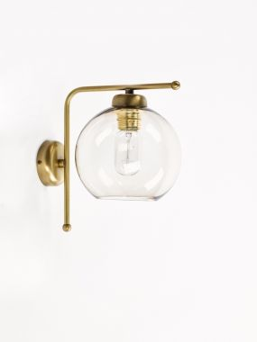 WALL LIGHT 0681-A1 OTTONE 1*E27 FOR GLASS
