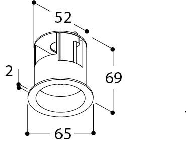 M10 BASE KOSMOS WC (HEAVY LOAD) TEXTURED WHITE