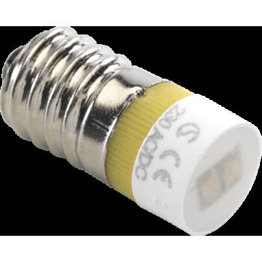 LAMP E10 / LED AMBER