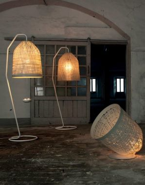 BLACK OUT FLOOR LAMP