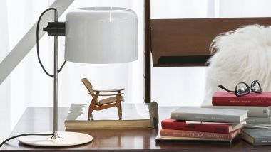 COUPE' TABLE LAMP WHITE