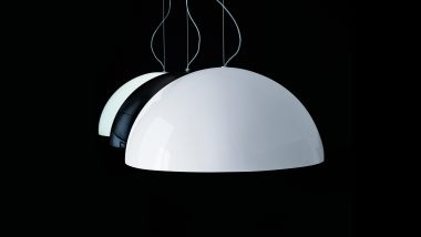 SONORA SUSPENSION LAMP PAINTED WHITE 1330mm