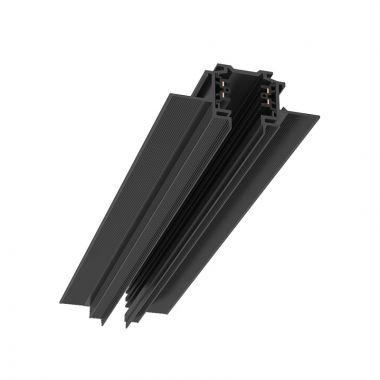 CARRIL 2530mm MT BLACK RECESSEDTRACKING POWER RECESSED