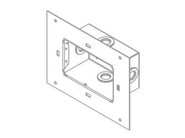 GUIDO BOX FOR PLASTERED CONCRETE