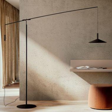ALTURA FLOOR LAMP | MATT BLACK METAL