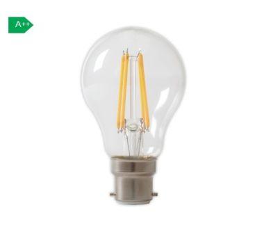 LED FULL GLASS FILAMENT GLS-LAMP 240V 7W 810LM B22 A60, CLEA