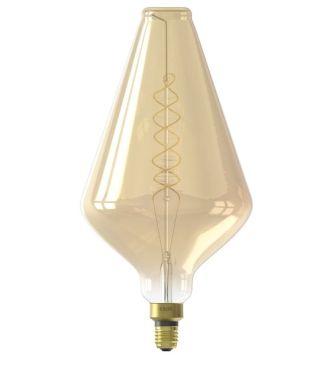 XXL VIENNA LED LAMP 240V 6W 300LM E27 VA188, GOLD 2200K DIMM
