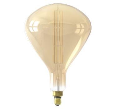 XXL SYDNEY LED LAMP 240V 8W 800LM E27 R250, GOLD 2200K DIM