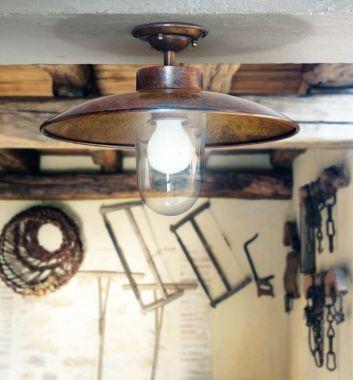 LINEA NABUCCO  CEILING LAMP COPPER