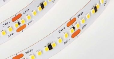 LEDSTRIP SINGLE COLOR 44W/M 24VDC 2,5M IP33 ADHESIVE TAPE CR