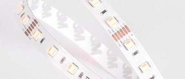 LEDSTRIP RGB+WW-CW 20W/M 24VDC 5M IP33 ADHESIVE TAPE RGB CW