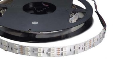 LEDSTRIP RGB 20W/M 24VDC 5M IP33 ADHESIVE TAPE RGB