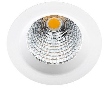 JUPITER PRO DALI MAT WHITE 25W LED 40D 3000K